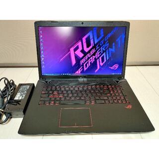 ASUS - ASUS ROG/高性能ゲーミングノート/i7/17.3インチFHD/M.2