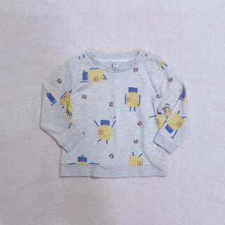 グラニフ(Design Tshirts Store graniph)のグラニフ 薄手 長袖  トレーナー カットソー(Tシャツ/カットソー)