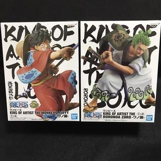 ワンピース ルフィ&ゾロ KING OF ARTIST フィギュア(アニメ/ゲーム)