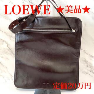 LOEWE - ★定価20万円★正規品 本物 ロエベ LOEWEトートバッグ