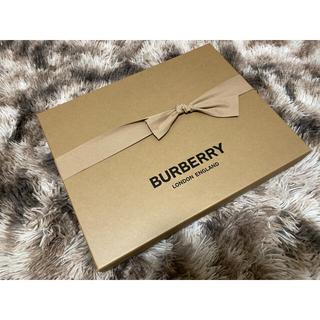 BURBERRY - Burberry  ギフト箱 マフラー 未使用