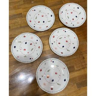ノリタケ(Noritake)のノリタケ PORTSHORE ポートショア プレート 18cm ケーキプレート(食器)