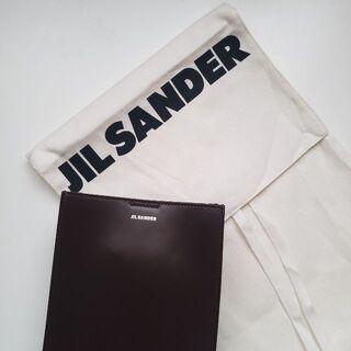 ジルサンダー(Jil Sander)のダークブラウン スモール Tangle バッグ(ショルダーバッグ)