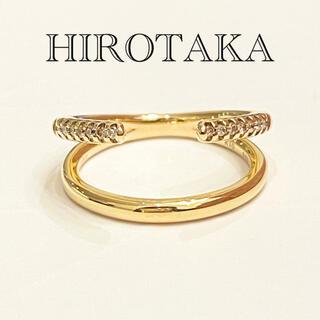 エストネーション(ESTNATION)の《HIROTAKA》 k10 ダイヤ リング(リング(指輪))