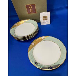 ノリタケ(Noritake)のノリタケ 乃りたけ 錦繍 金彩 和皿揃 取り分け皿 5枚 18cm(食器)