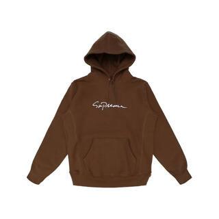 シュプリーム(Supreme)のSupreme Classic Script Hooded Sweatshirt(パーカー)