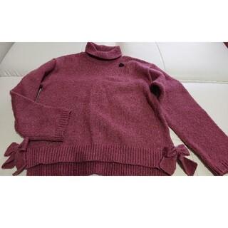 ブリーズ(BREEZE)の★【BLEEZE】サイドリボン☆ピンク セーター〔130〕★(ニット)
