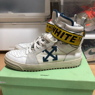 OFF-WHITE - off-white INDSTRIAL HI TOP サイズ42