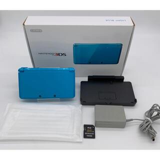 ニンテンドー3DS - 任天堂 ニンテンドー 3DS ライトブルー 箱付き