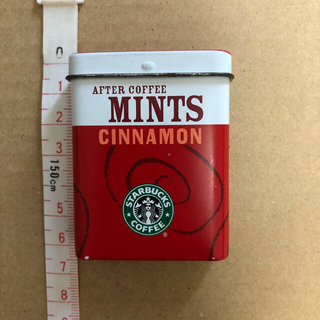スターバックスコーヒー(Starbucks Coffee)のスタバ ミント缶ケース(小物入れ)