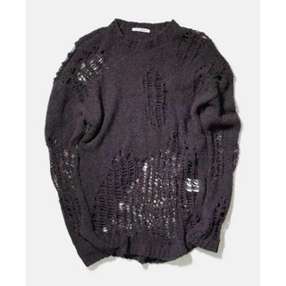 アクネ(ACNE)のOur legacy damage knit sweater(ニット/セーター)
