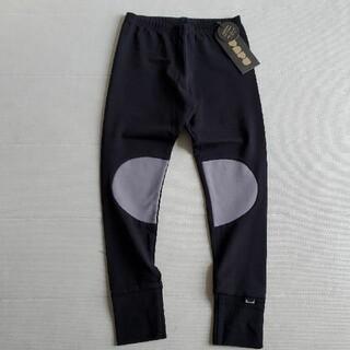 コドモビームス(こどもビームス)の5-6Y*PAPU PATCH LEGGINGS(BLACK)(パンツ/スパッツ)