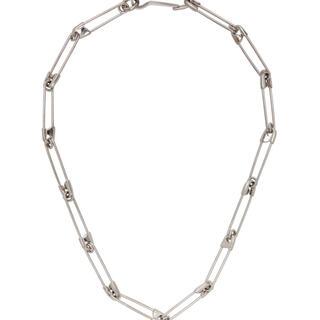バレンシアガ(Balenciaga)のBALENCIAGA PUNK NECKLACE シルバー パンク ネックレス(ネックレス)