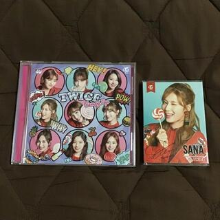 ウェストトゥワイス(Waste(twice))のTWICE CD &サナふせん 「Candy Pop」(K-POP/アジア)