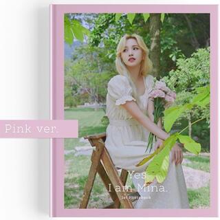 ウェストトゥワイス(Waste(twice))のTWICE  ミナ pink version  フォトブック 付属品無し(K-POP/アジア)