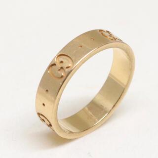 グッチ(Gucci)のグッチ アイコン リング k18 ピンクゴールド(リング(指輪))