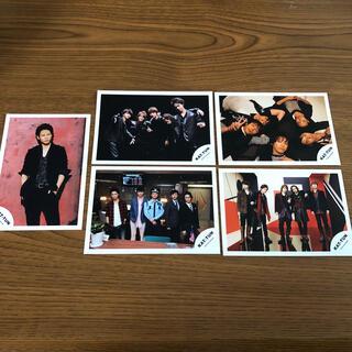 kat-tun 公式写真 5枚セット ①