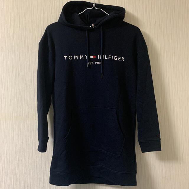 TOMMY HILFIGER(トミーヒルフィガー)のトミーヒルフィガー  パーカーワンピース レディースのワンピース(ひざ丈ワンピース)の商品写真