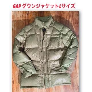 ギャップ(GAP)のGap ギャップ ダウンジャケット コート カーキLサイズ(ダウンジャケット)