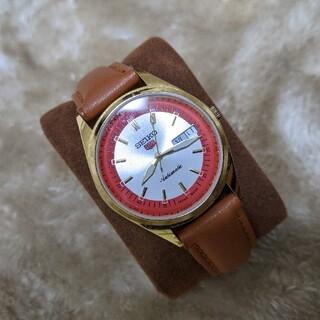 セイコー(SEIKO)のSEIKO5 セイコーファイブ ヴィンテージ 自動巻き 腕時計(腕時計(アナログ))