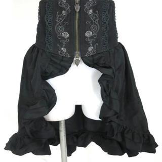 オッズオン(OZZON)のOZZ ONESTE  コルセットオーバースカート(ひざ丈スカート)