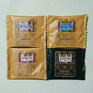 ディーンアンドデルーカ(DEAN & DELUCA)のクスミティー アールグレイ ブレンド ティーバッグ 4種類 KUSMI TEA(茶)