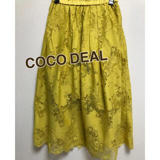ココディール(COCO DEAL)のココディール レーススカート(ひざ丈スカート)