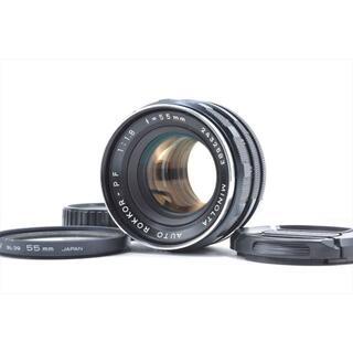 コニカミノルタ(KONICA MINOLTA)のミノルタ AUTO ROKKOR-PF 55mm f1.8 #1384(レンズ(単焦点))