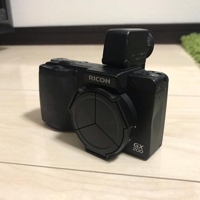 RICOH(リコー)のRICOH GX200 ジャンク スマホ/家電/カメラのカメラ(コンパクトデジタルカメラ)の商品写真
