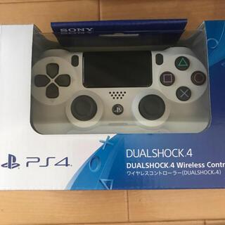 プレイステーション4(PlayStation4)の新品未開封☆PS4 純正ワイヤレスコントローラー ホワイト(その他)