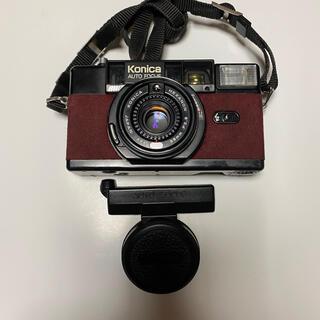 ジャンク Konica C35 AF2 コニカ フィルムカメラ コンパクトカメラ
