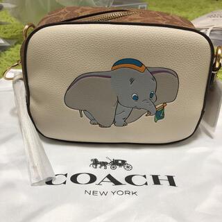 ディズニー(Disney)のCOACH コーチ ダンボ ショルダーバッグ 69252 ホワイト ディズニー(ショルダーバッグ)