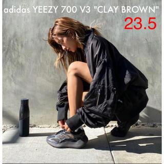 アディダス(adidas)のローラ着!adidas YEEZY 700 V3 CLAY BROWN23.5㎝(スニーカー)