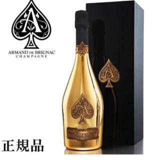 アルマンド ゴールド 新品・未開封 箱付き(シャンパン/スパークリングワイン)
