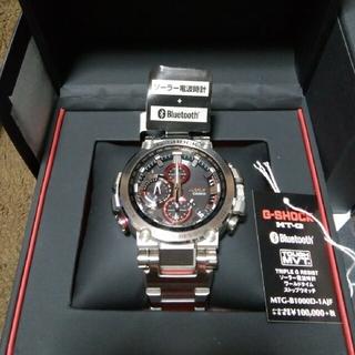 カシオ(CASIO)の極美品MT-G 電波ソーラー MTG-B1000D-1AJF G-SHOCK(腕時計(アナログ))