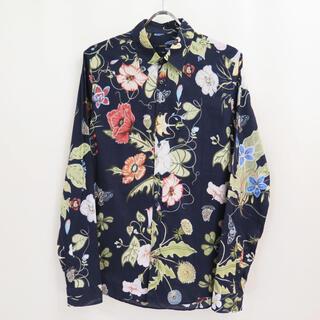 Gucci - GUCCI グッチ x クリスナイト フローラル シャツ フラワー 花柄