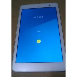 キョウセラ(京セラ)のSIMフリー au Qua tab KYT31 8インチタブレット(タブレット)