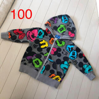 ディズニー(Disney)のディズニー ミッキーマウスパーカー100(ジャケット/上着)