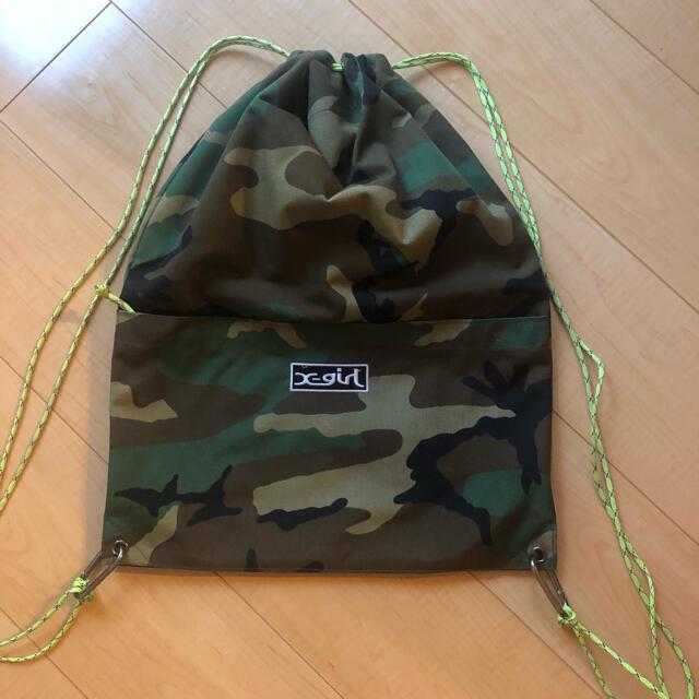 X-girl(エックスガール)のエックスガール レディースのバッグ(リュック/バックパック)の商品写真