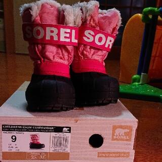 ソレル(SOREL)のSOREL14センチスノーブーツ(ブーツ)