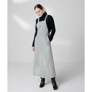 トリプルエー(AAA)のLAVANDA ラバンダ 宇野実彩子 オーバーオールスカート(ロングスカート)
