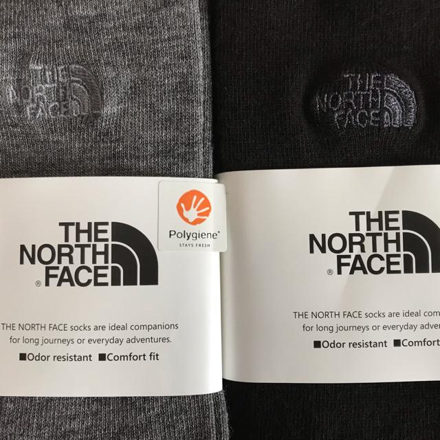 THE NORTH FACE(ザノースフェイス)の2足セット【M】25-27㎝¥3800+税★新品★THE NORTH FACE★ メンズのレッグウェア(ソックス)の商品写真