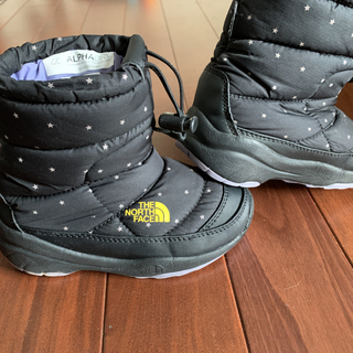 THE NORTH FACE - X-girl THE NORTH FACE ヌプシ キッズ  ノースフェイス
