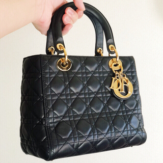 Christian Dior - DIOR Lady Dior Cannage Lambskin Bag