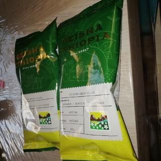 カルディ(KALDI)のカルディ ゲイシャエチオピア 2袋(コーヒー)