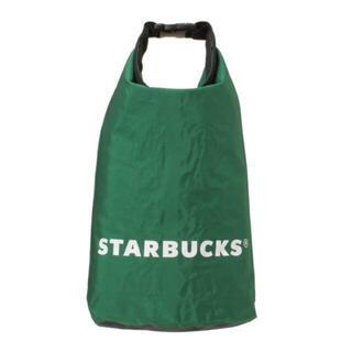 Starbucks Coffee - 新品未使用 スターバックス ウォータープルーフバッグ スタバ バッグ 5L