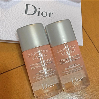 クリスチャンディオール(Christian Dior)のディオール カプチュール ユース サンプル 2本 新品未使用(化粧水/ローション)
