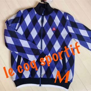 ルコックスポルティフ(le coq sportif)の新品■22,000円【ルコック】メンズ ゴルフウェア   M(ウエア)