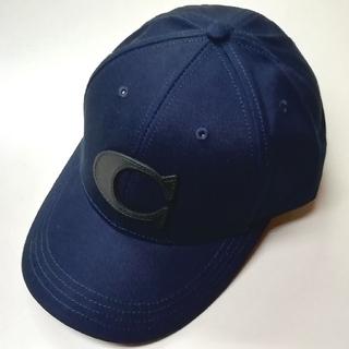 コーチ(COACH)の【COACH★F75703】コーチ キャップ帽子 ネイビー 新品(キャップ)