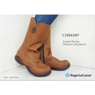 リゲッタカヌー(Regetta Canoe)の【最終お値下げ】リゲッタカヌー ミドルブーツ 24.5(ブーツ)